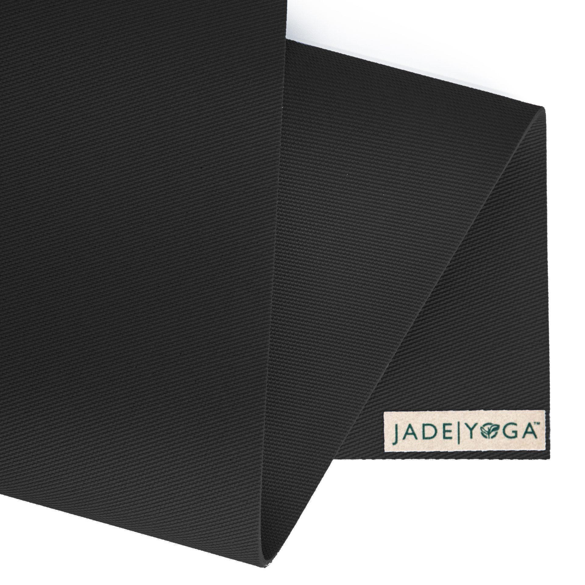 Jade Harmony Black Professional Yoga Mat Ouryogashop