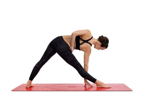 Yoga Mat Liforme Love Mat yoga pose