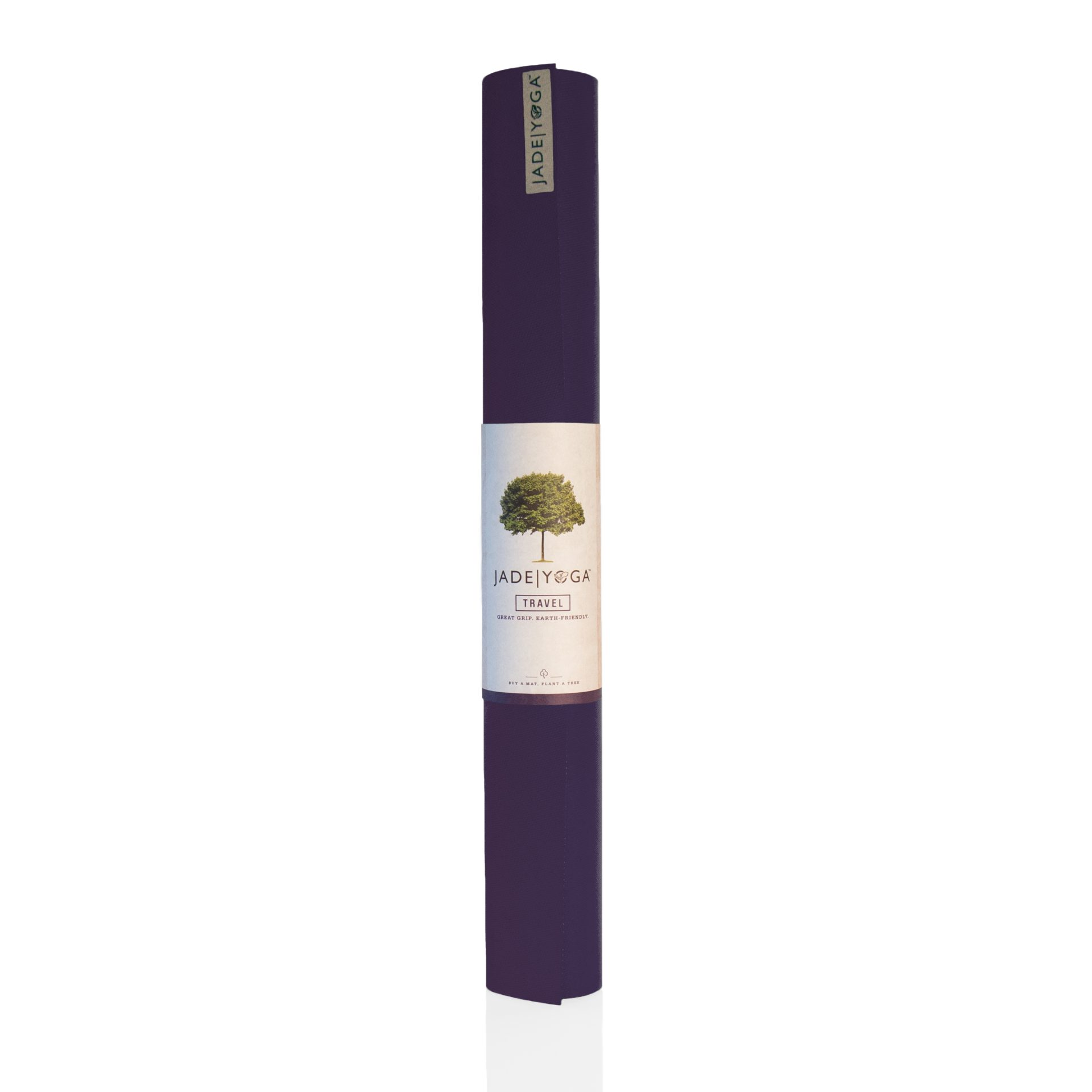 Jade Travel Yoga Mat Purple