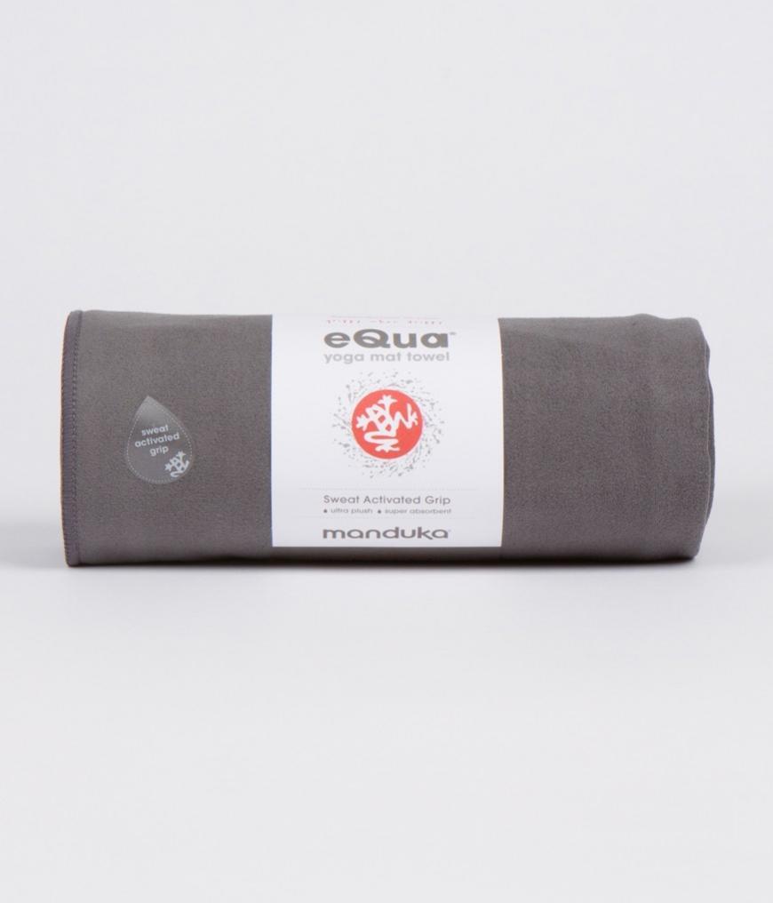 eQua Mat Towel Thunder Manduka