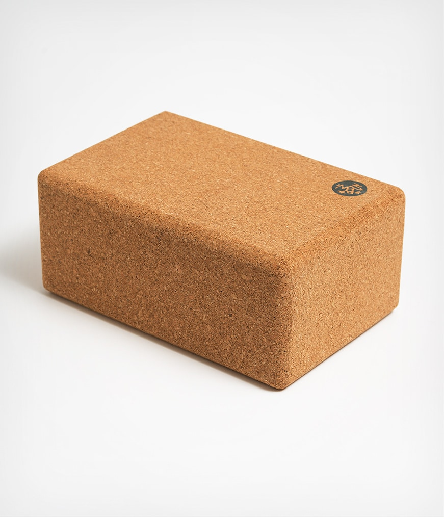 Yoga Cork Block Manduka