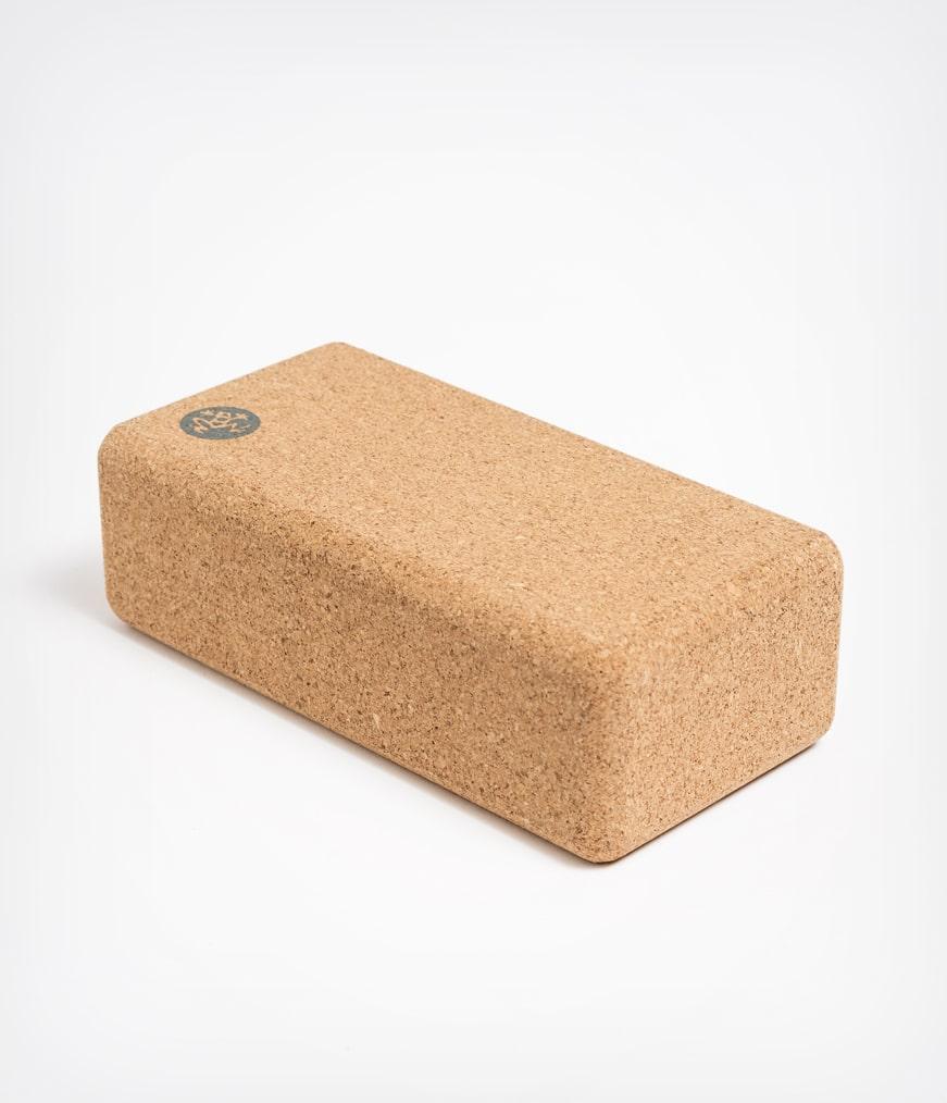 Yoga Cork Block Lean Manduka