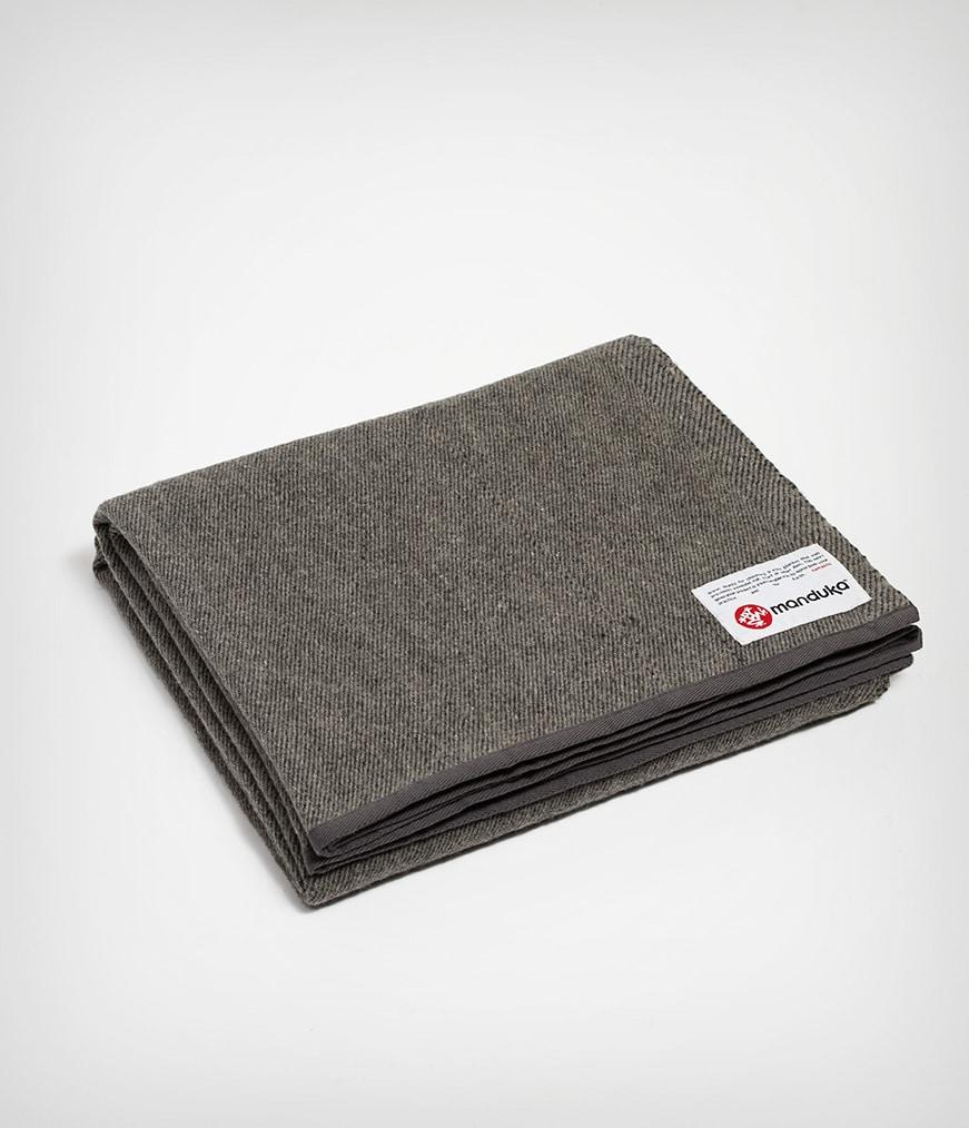 Recycled Wool Blanket Sediment Manduka