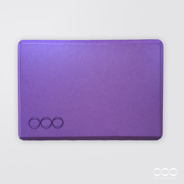 OOO Yoga Block sOOOft Purple