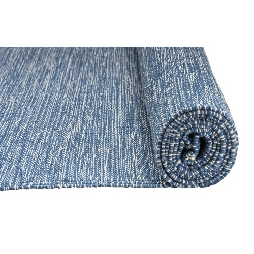 Mysore Rug Yoga Mat Jade Indigo Blue