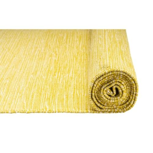 Mysore Rug Yoga Mat Jade Turmeric Yellow