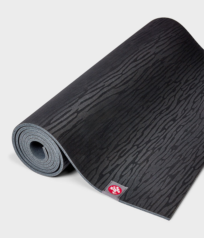 eKo Mat Black Yoga Mat Manduka 6mm