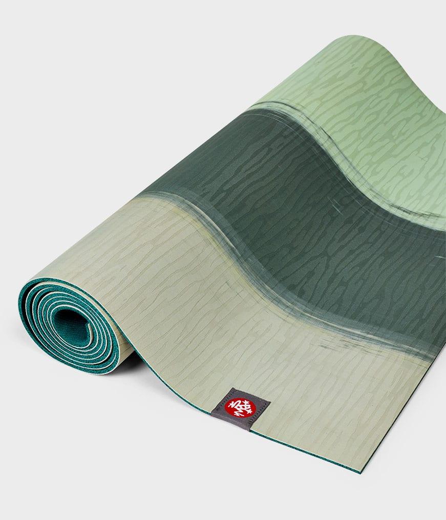 eKo Lite Manduka Green Ash Stripe Yoga Mat 4mm