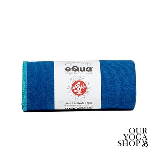 eQua Handduk Pacific Blue Manduka