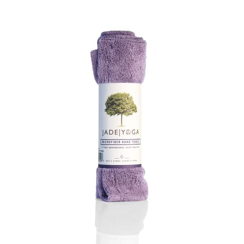 Jade Microfiber Hand Towel Lavender