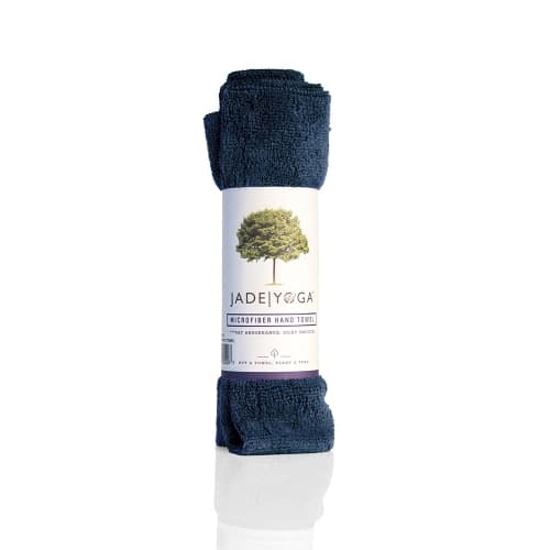 Jade Microfiber Hand Towel Midnight Blue