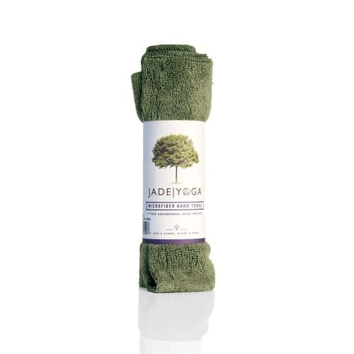 Jade Microfiber Handduk Olive Green