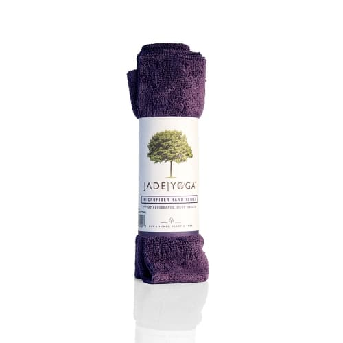 Jade Microfiber Hand Towel Purple