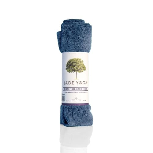 Jade Microfiber Hand Towel Slate Blue