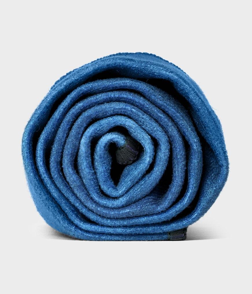 eQua Hand Towel Camo Tie Dye Blues Manduka