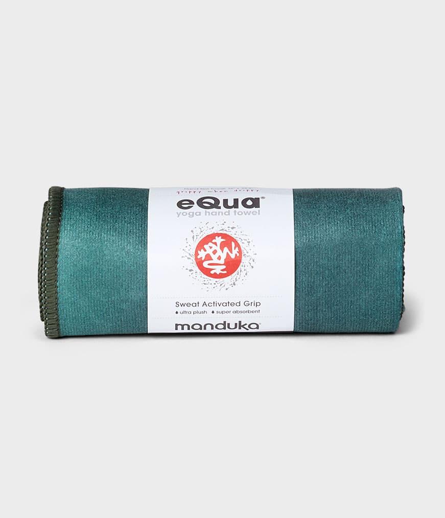 eQua Handduk Camo Tie Dye Greens Manduka