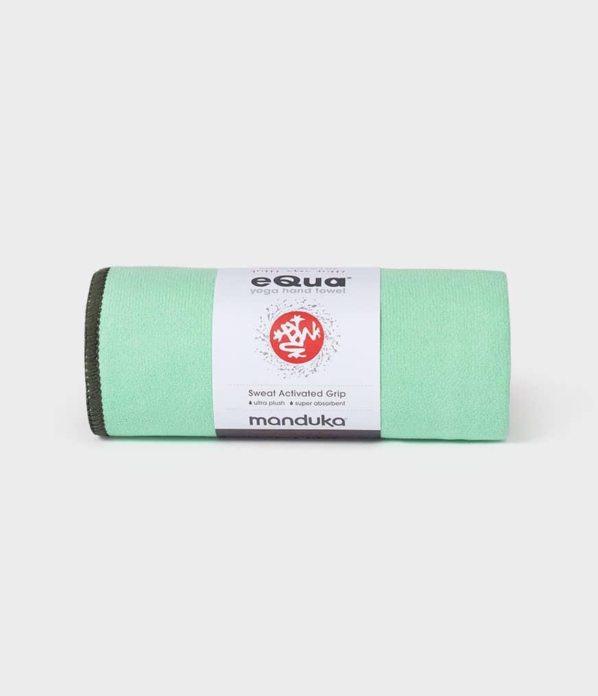 eQua Hand Towel Green Ash Manduka